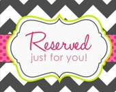 Reserved listing for Marianne Williams