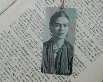 Frida Kahlo bookmark metal bookmark