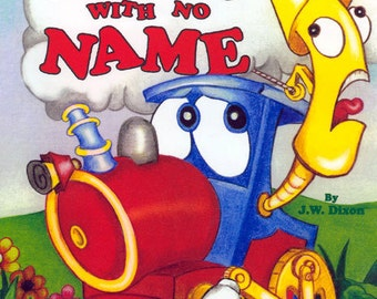 The Train With No Name Personalized Book