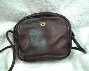 Small Vintage Etienne Aigner Cross Body Bag