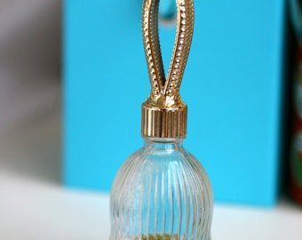 Vintage Avon Perfume Bottle. Glass Bell Perfume Bottle, Avon Collection.