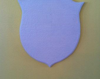 Head mount plaque