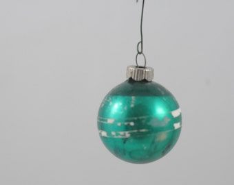Vintage Christmas Ornament Glass Christmas  Ornament 446