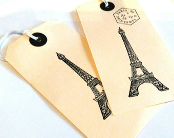 Eiffel Tower Gift tags x 15