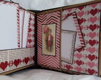Blank Scrapbook Album, Photo Album by Island Lilly Designs