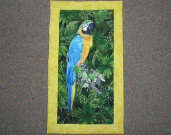 Oliver the Embroidred Parrot