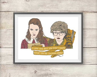 Sam and Suzy - Moonrise Kingdom - Wes Anderson - Print