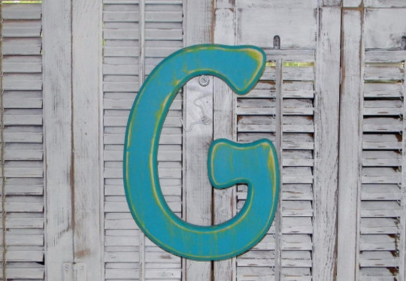 distressed wood letters items similar to wooden letter g distressed wood letters 21380