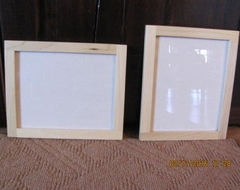 8X10 Frame, 8X10 Picture Frame, Wooden Picture Frame, Wood Frame, 8X10 Custom Frame, 8X10s