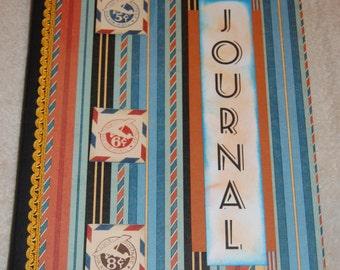 Travel OOAK Altered Notebook/Journal