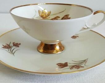 Beautiful Bavarian Alboth & Kaiser Tea Cup~Simple Elegance~