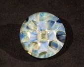 Pale Dotbox Borosilicate Glass Marble 2.1 inch