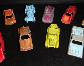 Tootsie Toy Cars Lot Of 13
