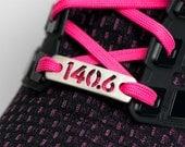 140.6 Ironman or 70.3 - 1/2 Ironman Triathlon Shoe Tag Charm