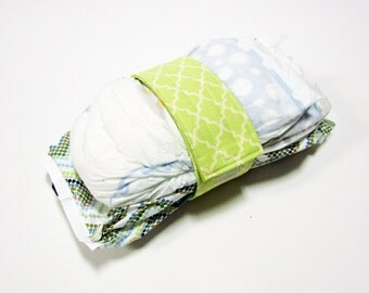 Lattice Diaper Strap - Green Illuminated Lattice
