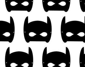 Bat Mask Baby Blanket, Custom Baby Blanket, Swaddle Wrap, Baby Swaddle Toddler Blanket by JuteBaby