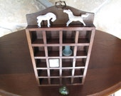 Shadow Box, Hanging Small Curio Display, Miniature Display, Shelf, Simple, Storage, Display, Open, Miniature,