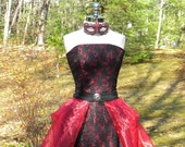 Ballroom Masquerade....Regally Red