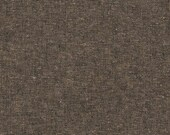 Robert Kaufman Essex Yarn Dyed Linen - Espresso , Fabric, Quilting, Bagmaking, Apparel, Homegoods