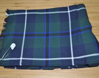 Baby Kilt, Various sizes,  Douglas Modern tartan Baby Kilt, Polyviscose, machine washable. 6-12m or 12-18m