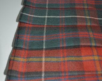 Baby Kilt, 6-12m. County Meath tartan (Irish tartan) Baby Kilt, 10oz Pure New Wool. Irish district tartan.
