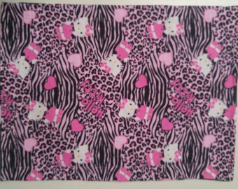 Zebra/Leopard Hello Kitty Placemat