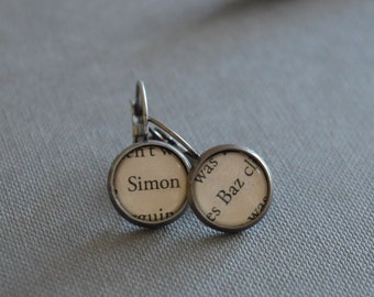 Simon and Baz Carry On Earrings