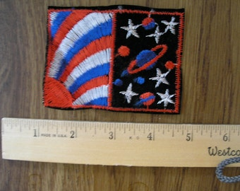 "Vintage patches from 1970's ""Space Odyssey -2  """
