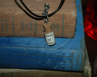 Potion Vial Necklace Sands of Time #271