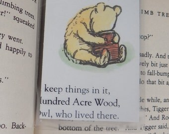 Classic Winnie the Pooh Mini Bookmark-CWPM04