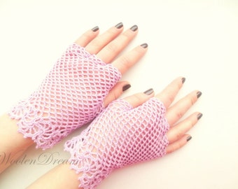 Lilac irish lace gloves,crochet jewelry,bridal accessories,victorian style fingerless gloves,bohemian summer gloves,romantic weddings gloves