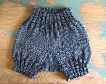 Ribbed Shorties in 32 Different Colors///You Choose the Size & Color///100% Peruvian Highland Wool///MADE TO ORDER