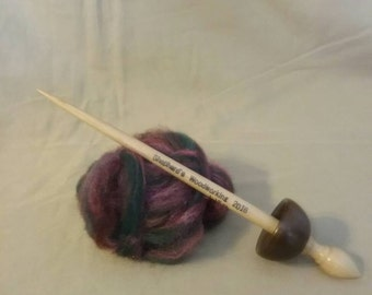 Tibetan  Supported Spindle Walnut and Maple
