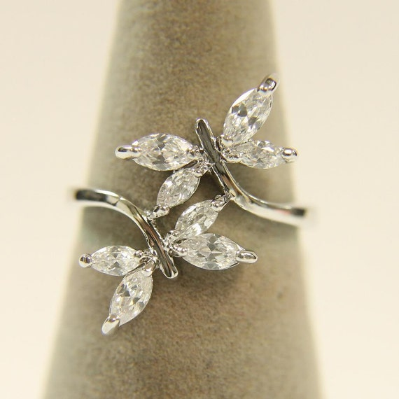 Dragonfly Ring Butterfly Ring Women S Dress Ring Double