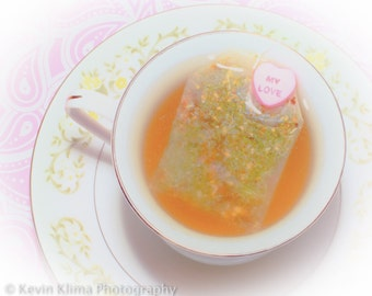 For the Love of Tea - Photography Art Print photo