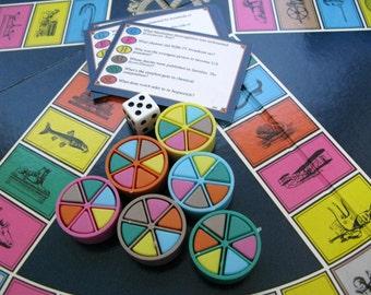 Trivial Pursuit Genus Edition, 1981 Vintage Board Game, Drinking Game, Game Night