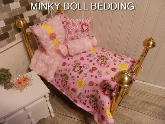 Doll BeddingStrawberry Shortcake Doll Bedding With Reversible