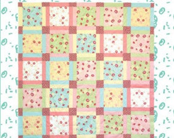 Old Fashioned Charm Quilt Pattern