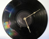 STYX Etched Vinyl LP record album clock. - Paradise Theatre - Upcycled