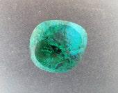 Gem silica Chrysocolla with Malachite freeform polish stone