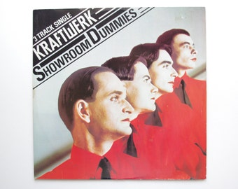 Kraftwerk - Showroom Dummies 12' Vinyl Record Single from UK - 1978 - Spacelab, Europe Endless