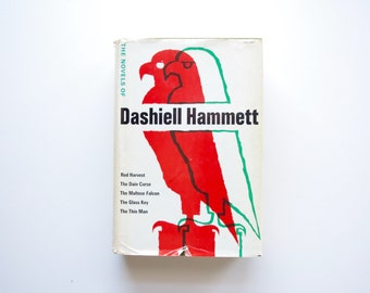 The Novels of Dashiell Hammett - Alfred Knopf Hardcover - Film Noir, Detective Fiction, Pulp Novel - Book Club Edition