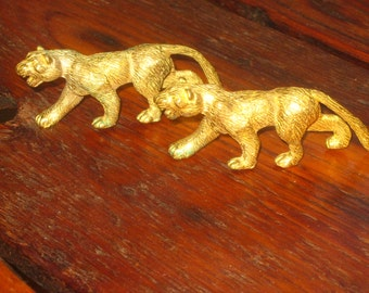 Panthers , Mountain Lions , Lions , Miniatures