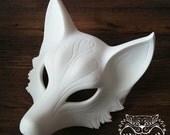 Kitsune mask - Custom Paint