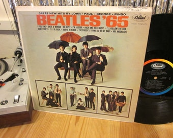 The Beatles - '65 - Original Mono Pressing - Capitol - Early Beatles - John, Paul, George, Ringo - Hard To Come By!