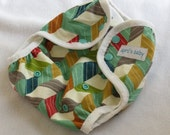 One size cloth diaper cover - Geo