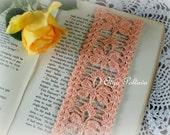 Butterflies Bookmark, Crochet Bookmark Pattern, Crochet Lace Edging Pattern, Lace Butterflies