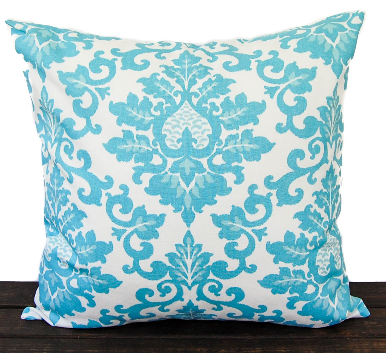 Throw pillow cover Coastal Blue and white cushion cover