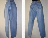 High Waisted Jeans, Vintage Jordache Jeans, Light Blue Jeans, Women's Blue Jeans, Size 6, Vintage Denim Pants, High Waisted Denim, Hipster