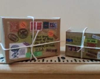PO-2    Miniature  Mailing packages set of 2